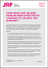 Click to view 'How have low-income families been affected by changes to council tax support?' as a PDF