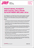 Featured Publication - Monitoring Poverty and Social Exclusion in Northern Ireland 2014